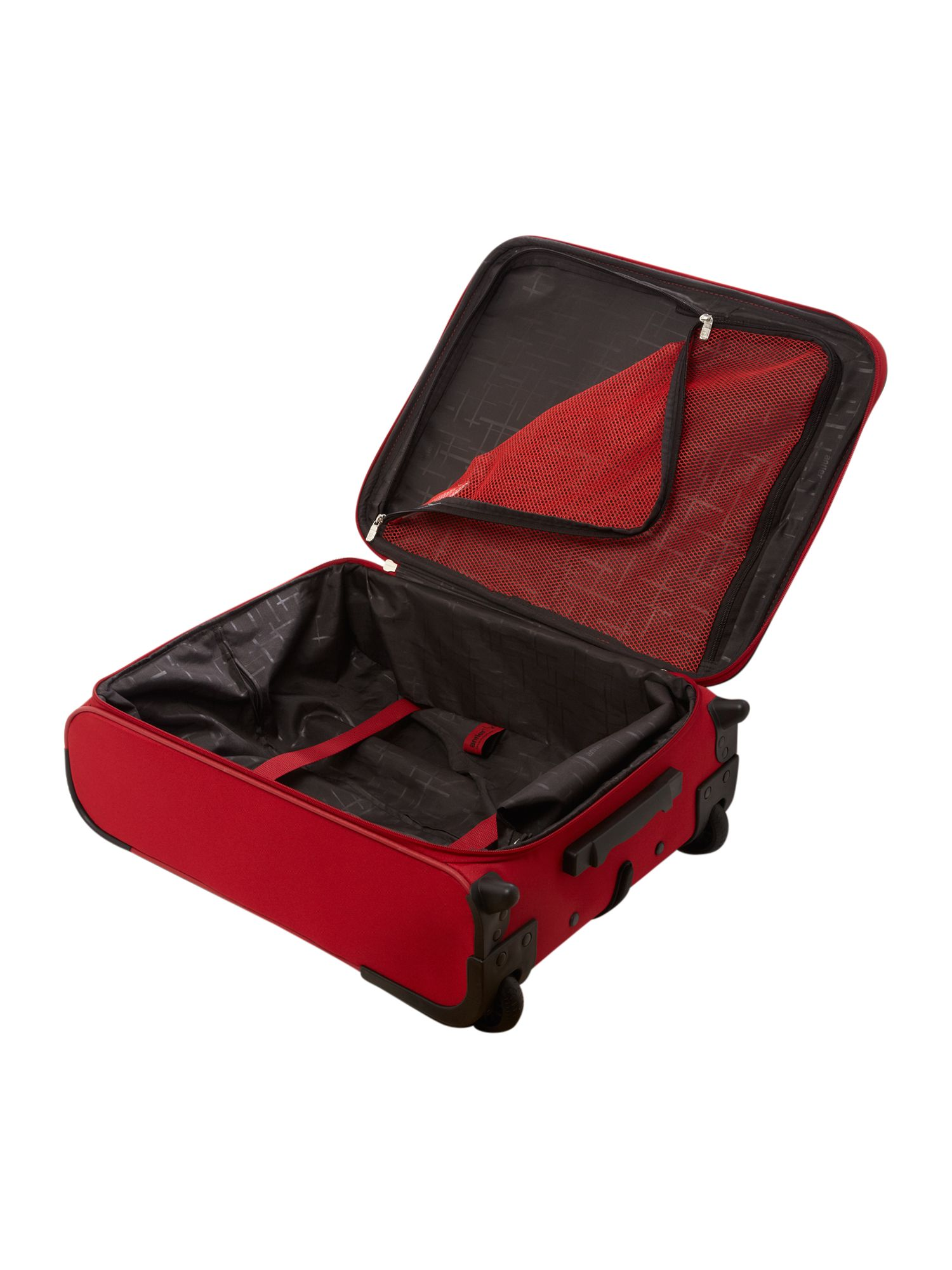 Barina Cabin 2 Wheel Rollercase Red