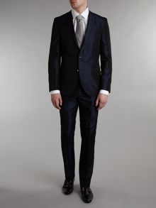 Without Prejudice Slim fit fine striped suit