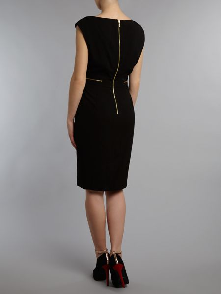 Kenneth Cole Shift dress with zip detail