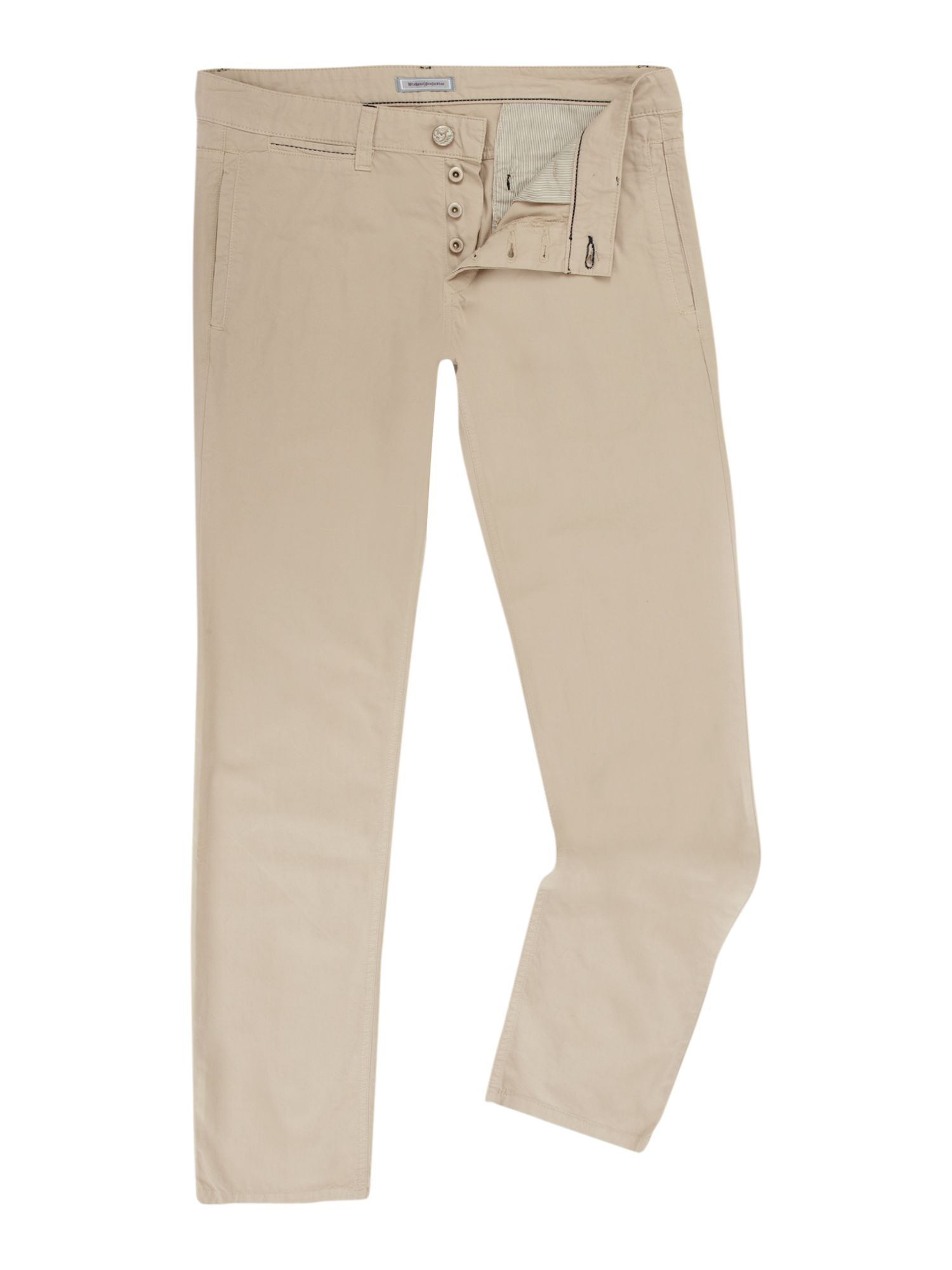 Trousers chino zip fly