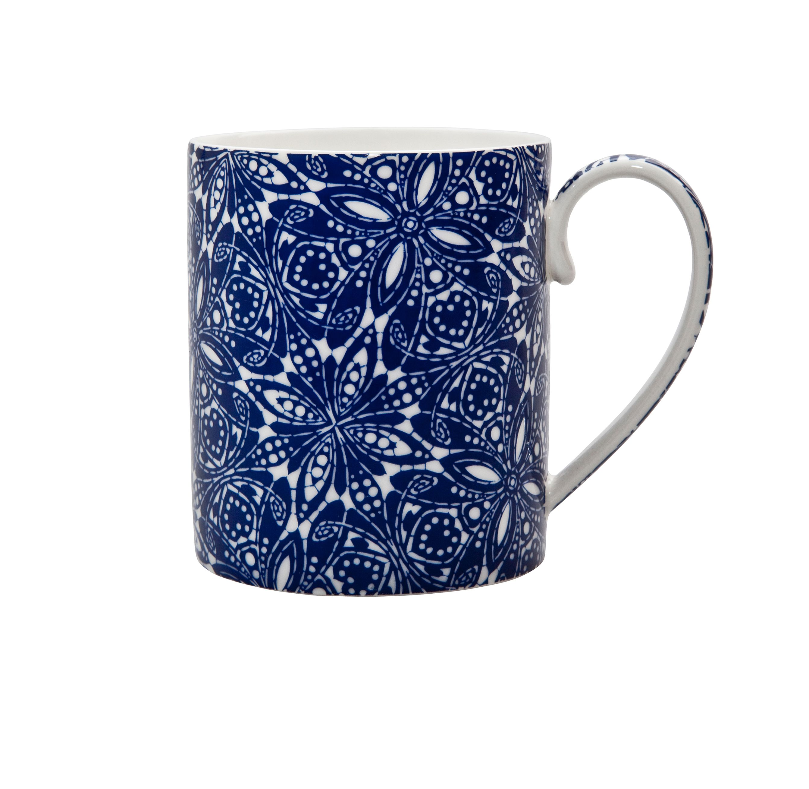 Monsoon cadiz blue mug
