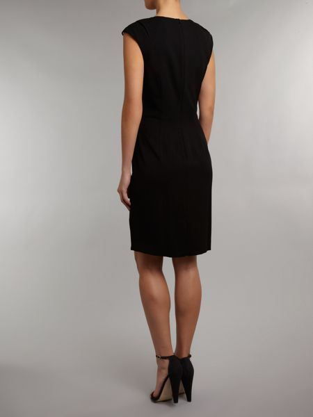 Kenneth Cole Shift dress with ruched side detail
