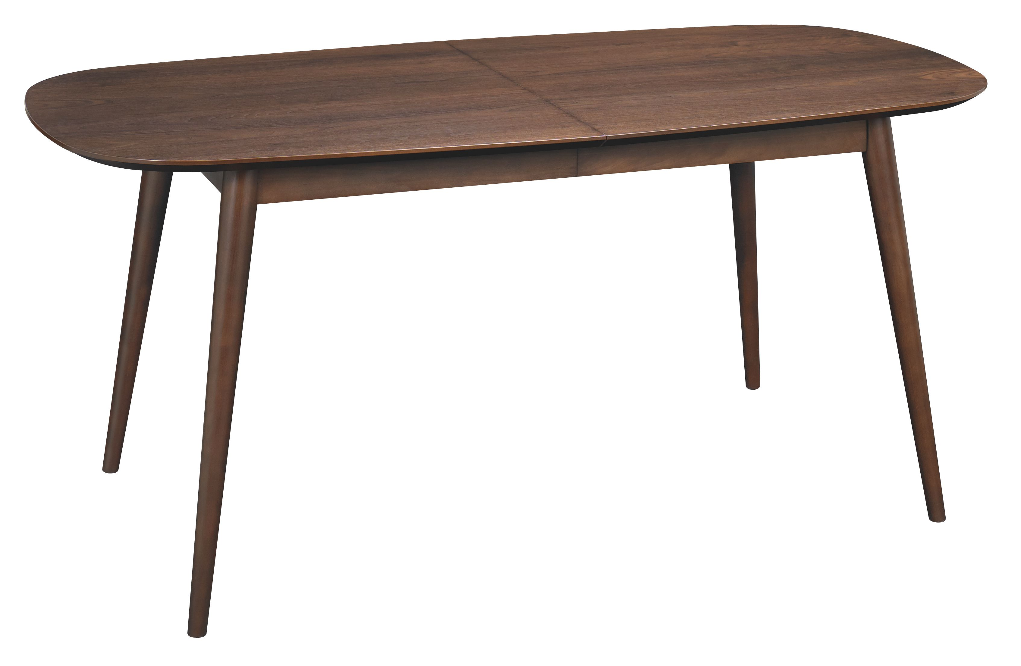 Dean walnut extending dining table