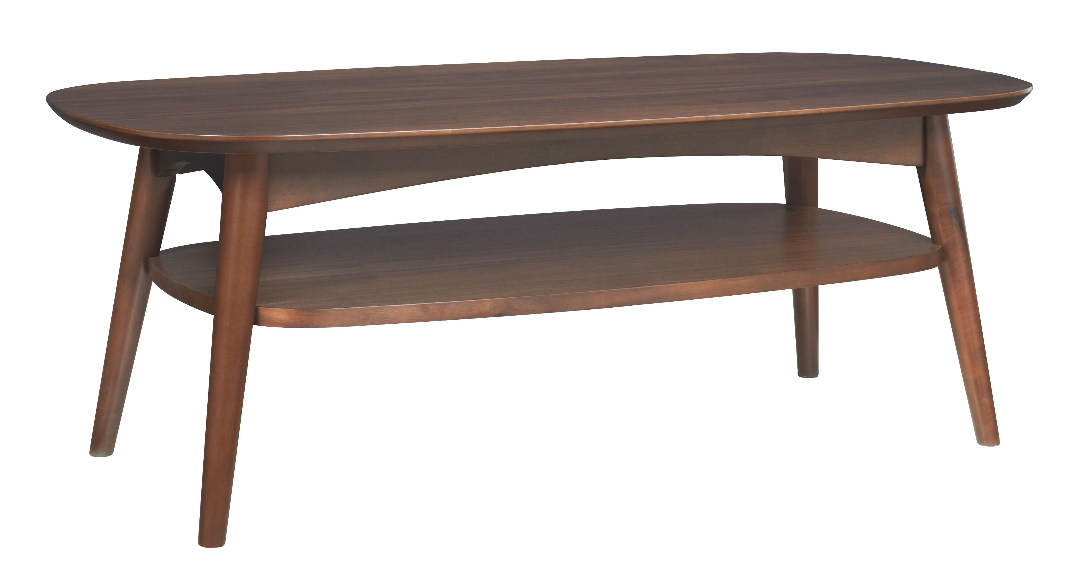 Dean coffee table with shelf