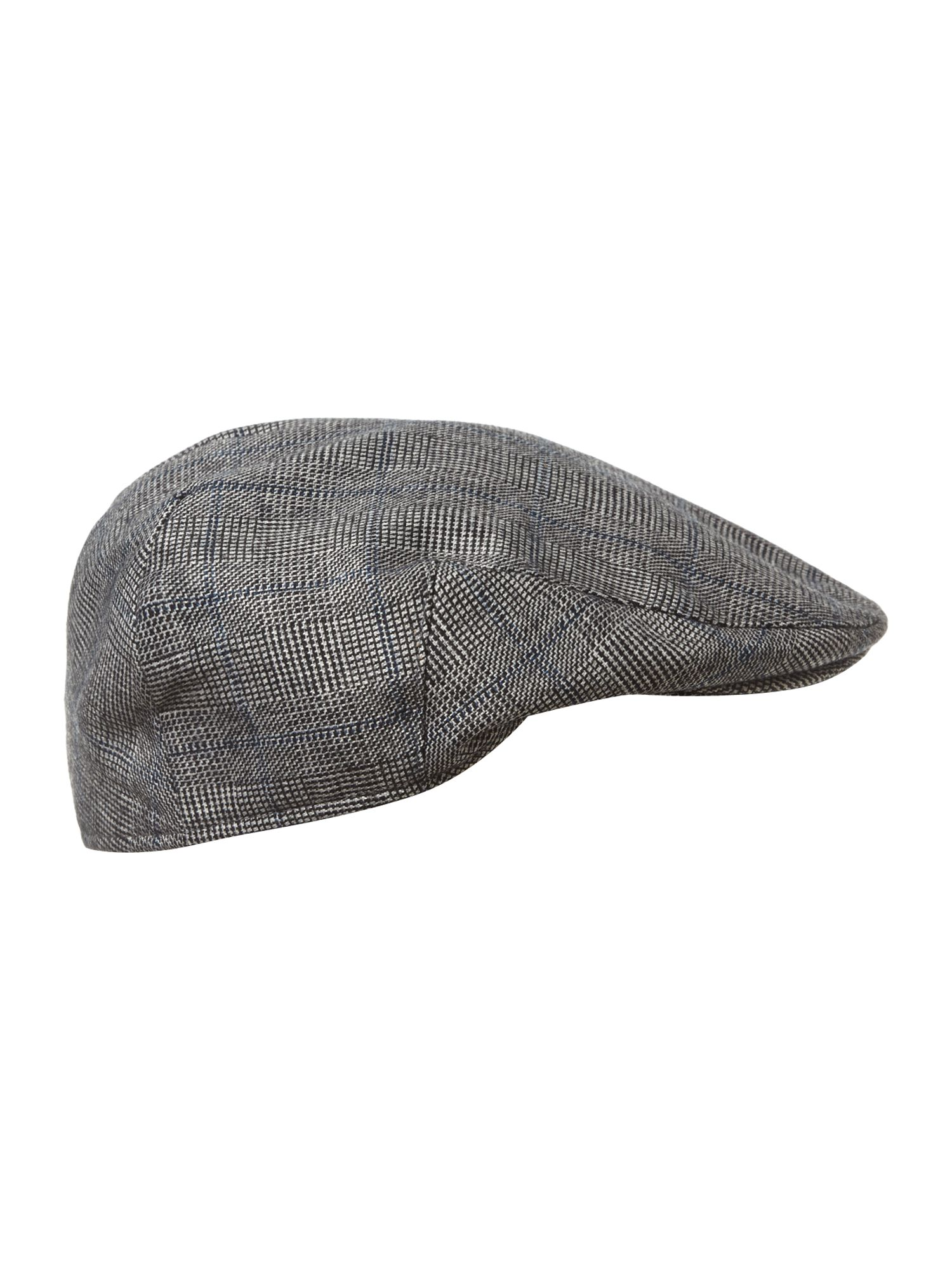 Checked flatcap