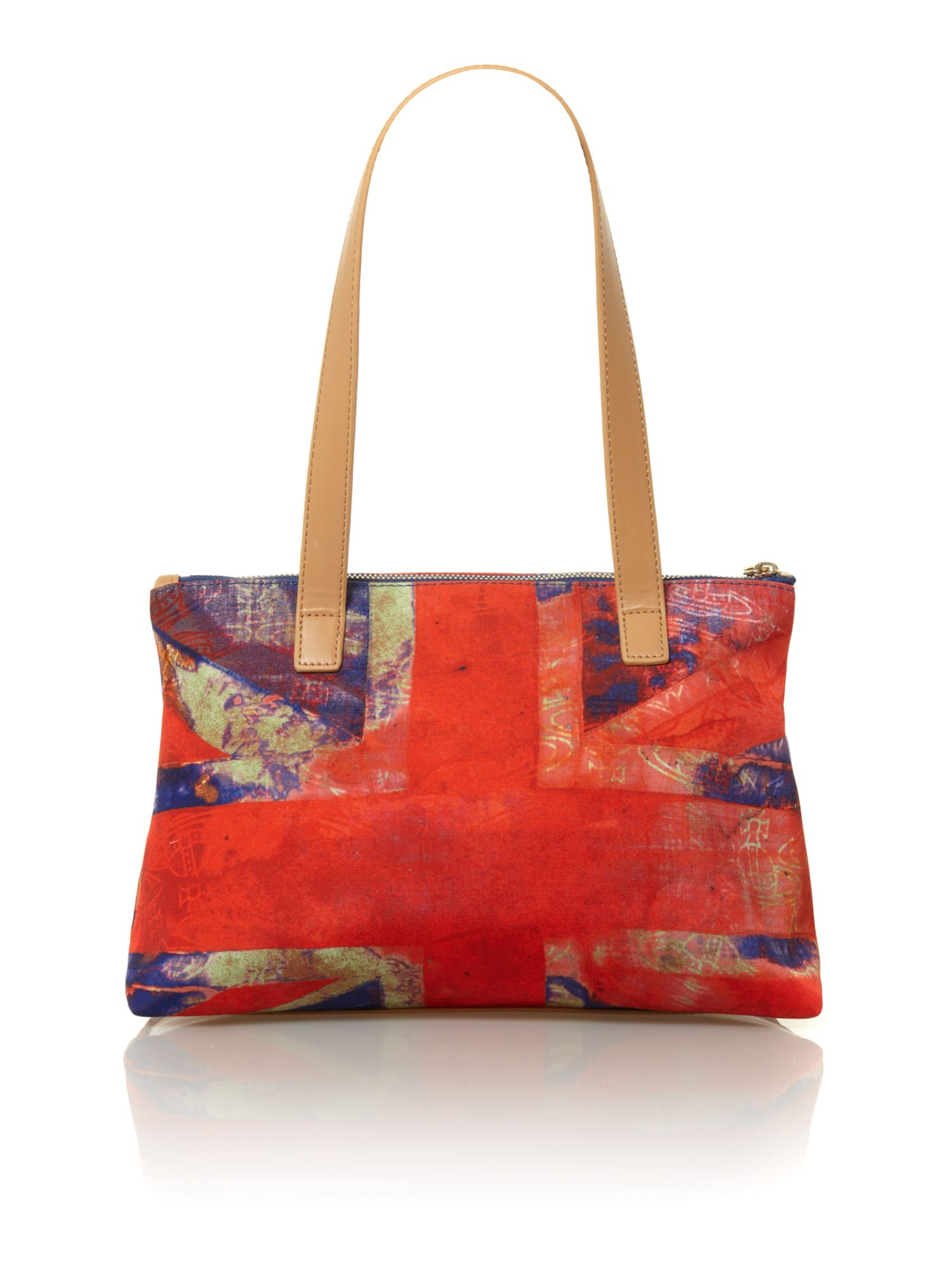 Crawford union jack print shoulder bag
