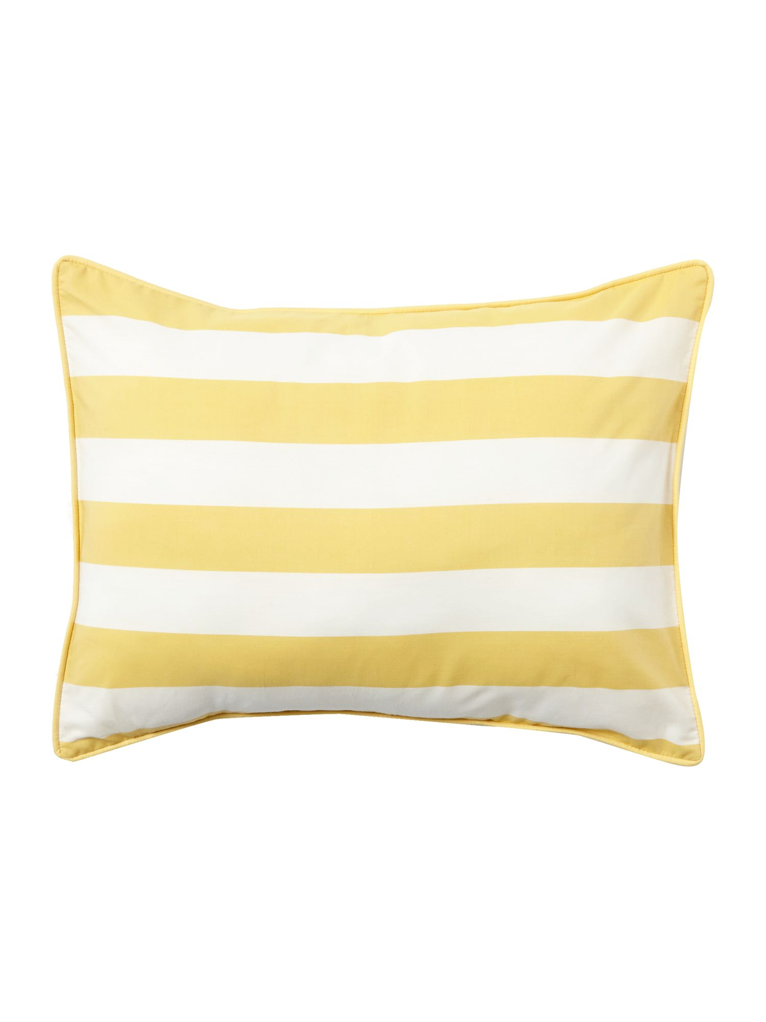 Citrine stripe cushion