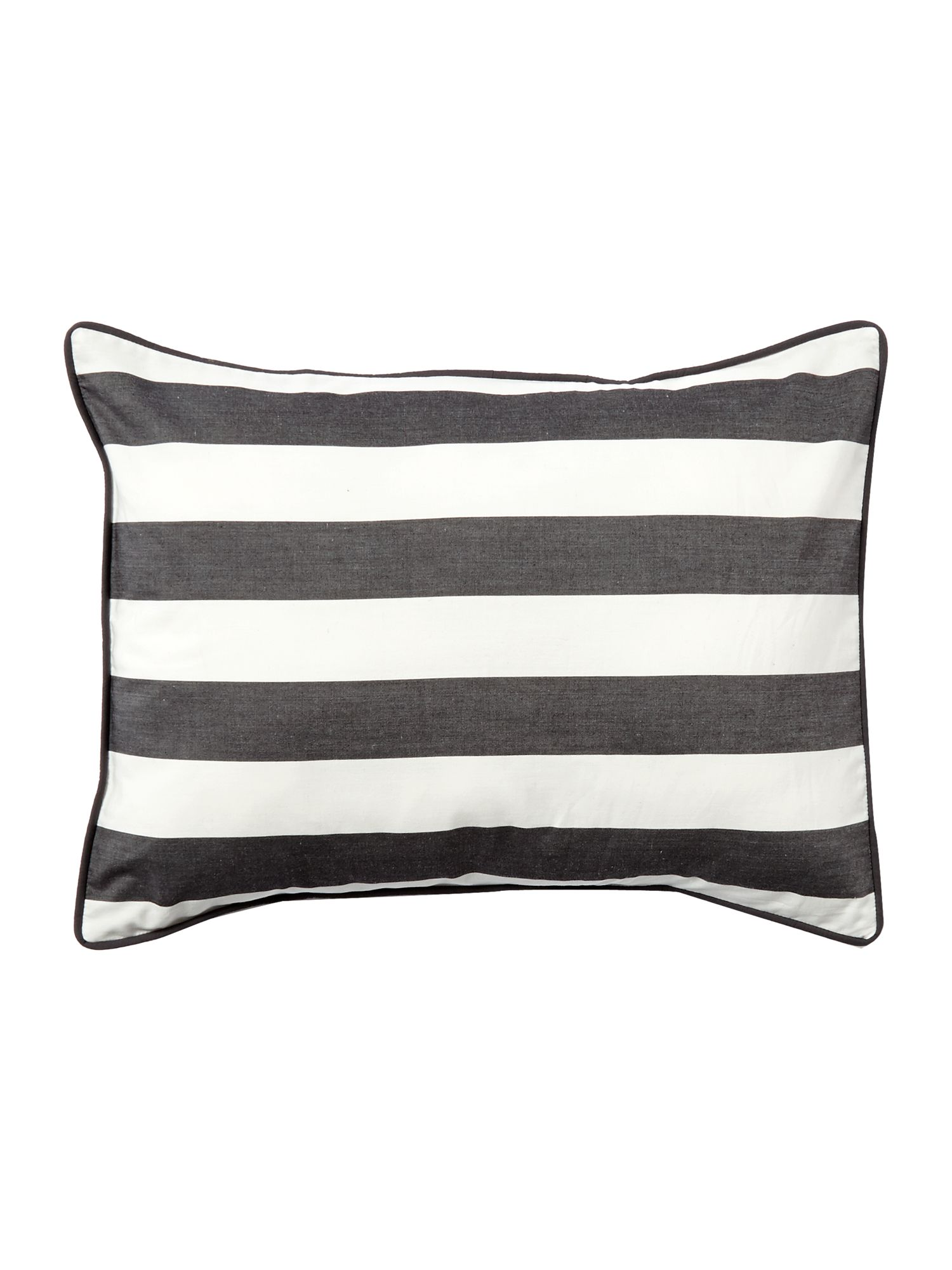 Graphic stripe cushion