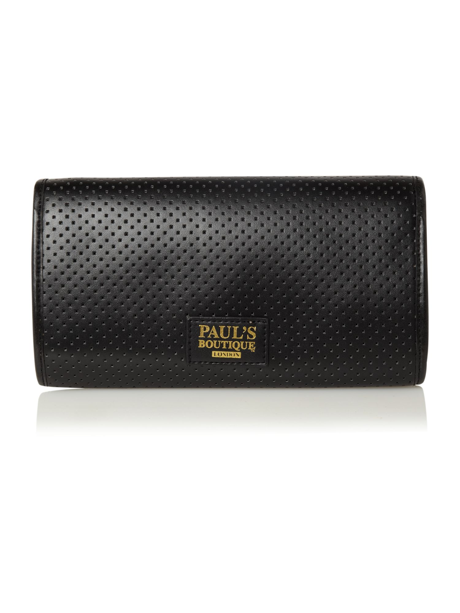 Evie studded clutch