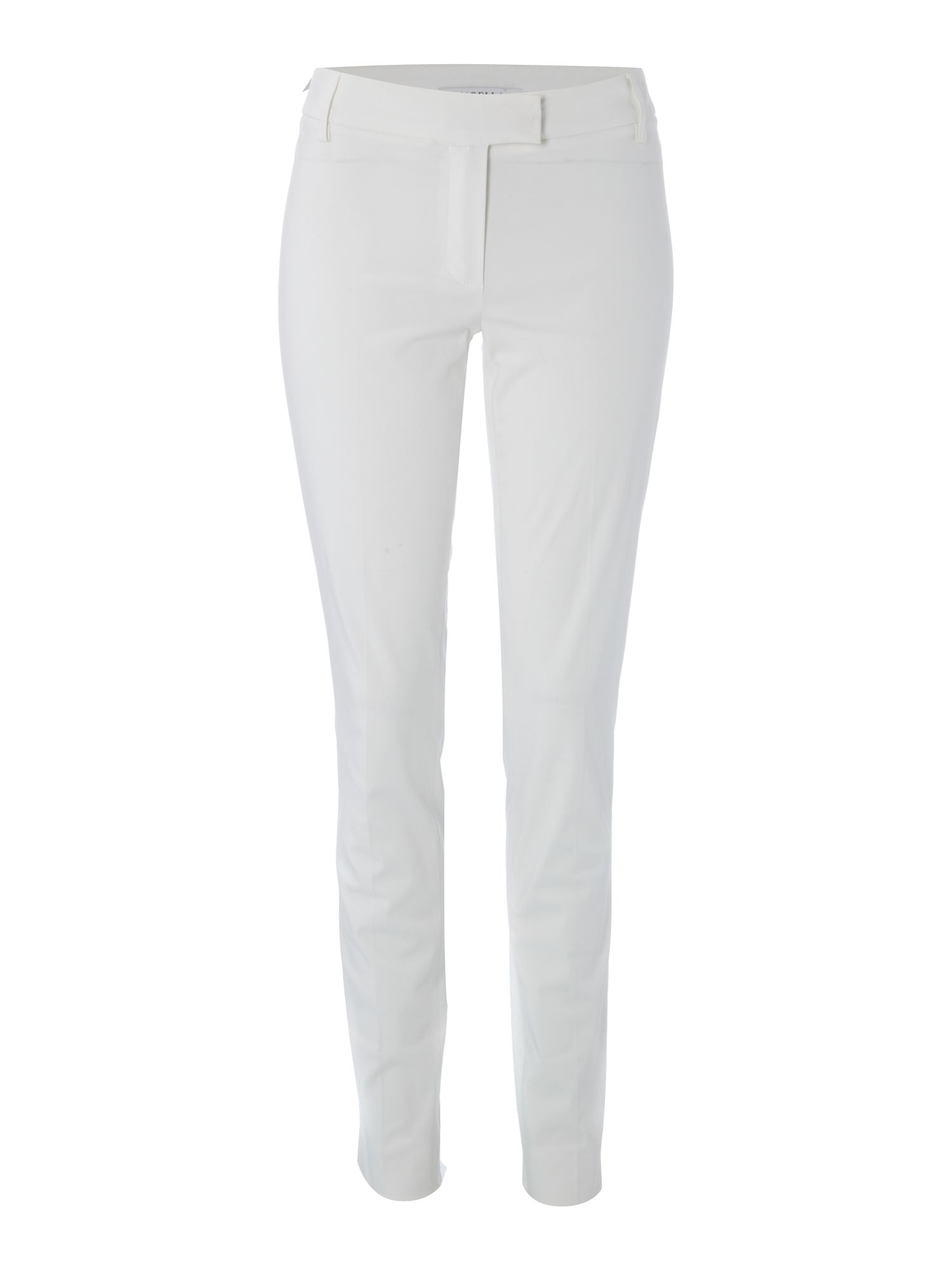 Aloa slim leg pleated trousers