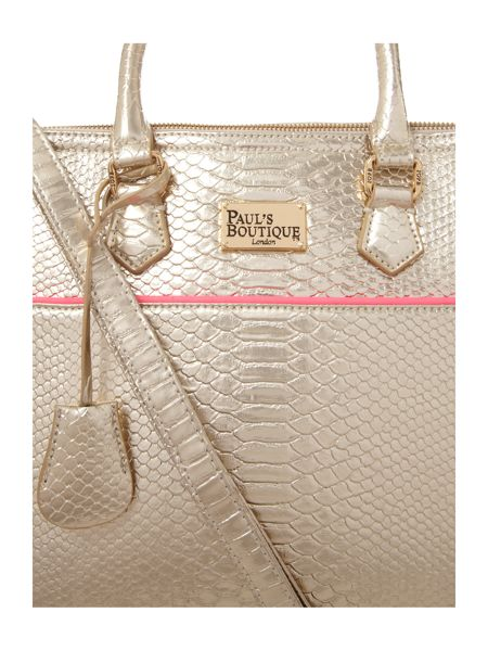 Paul's Boutique Metallic maisy bag