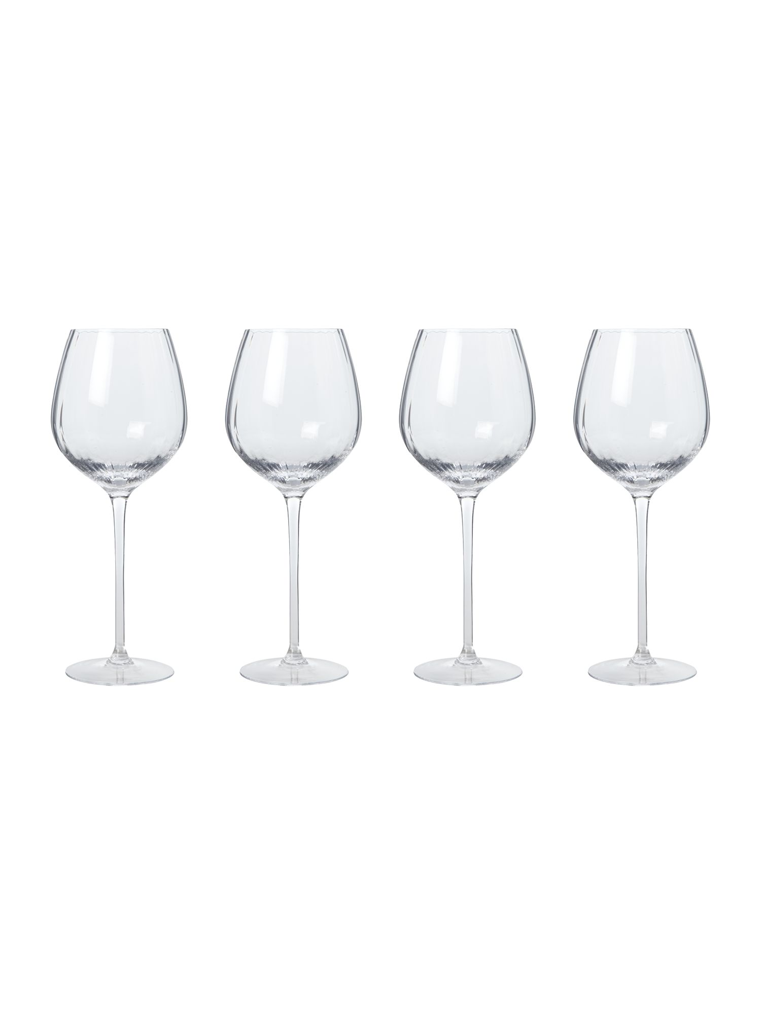Set 4 Aurelia red wine glass