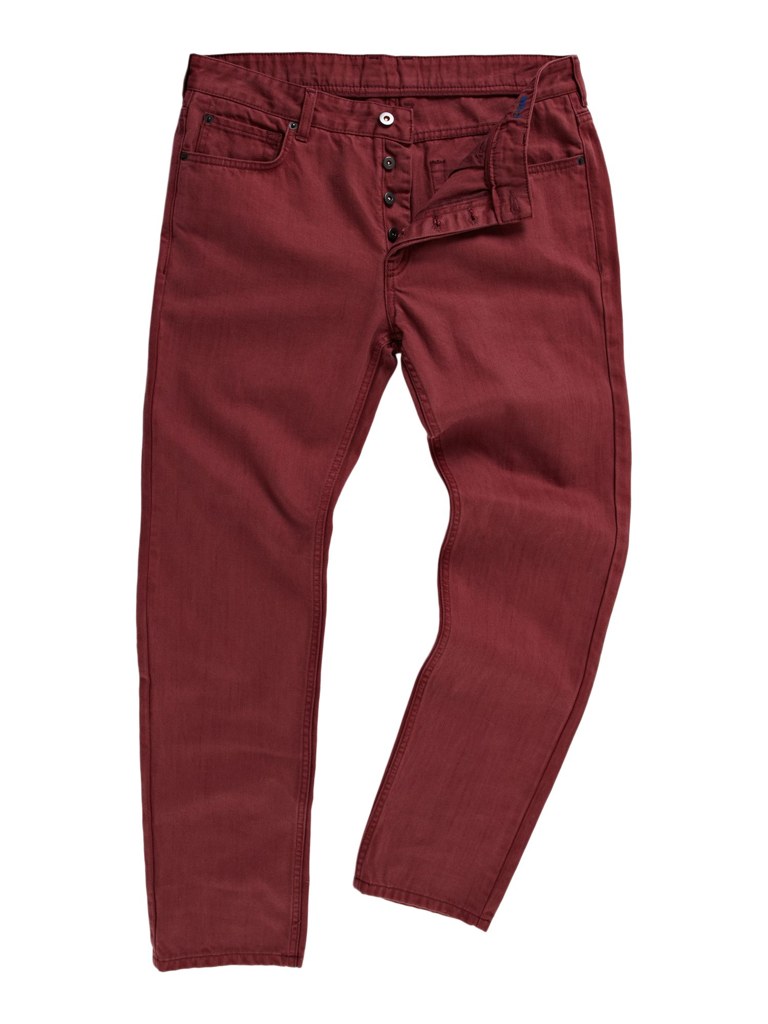 Hoey coloured standard fit denim jean