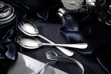 Arthur Price Britannia silver plated pair of salad servers