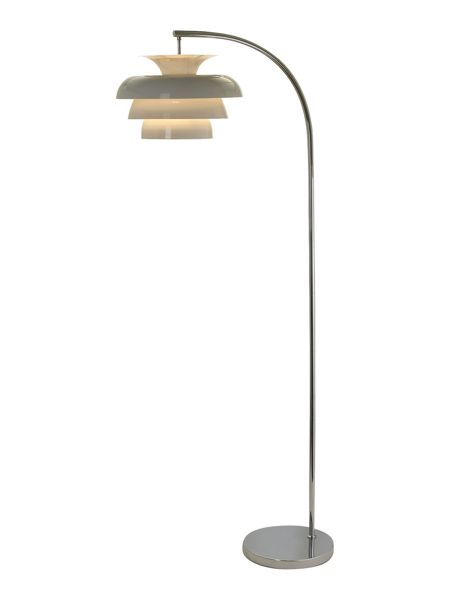 Linea Palmer tiered floor lamp