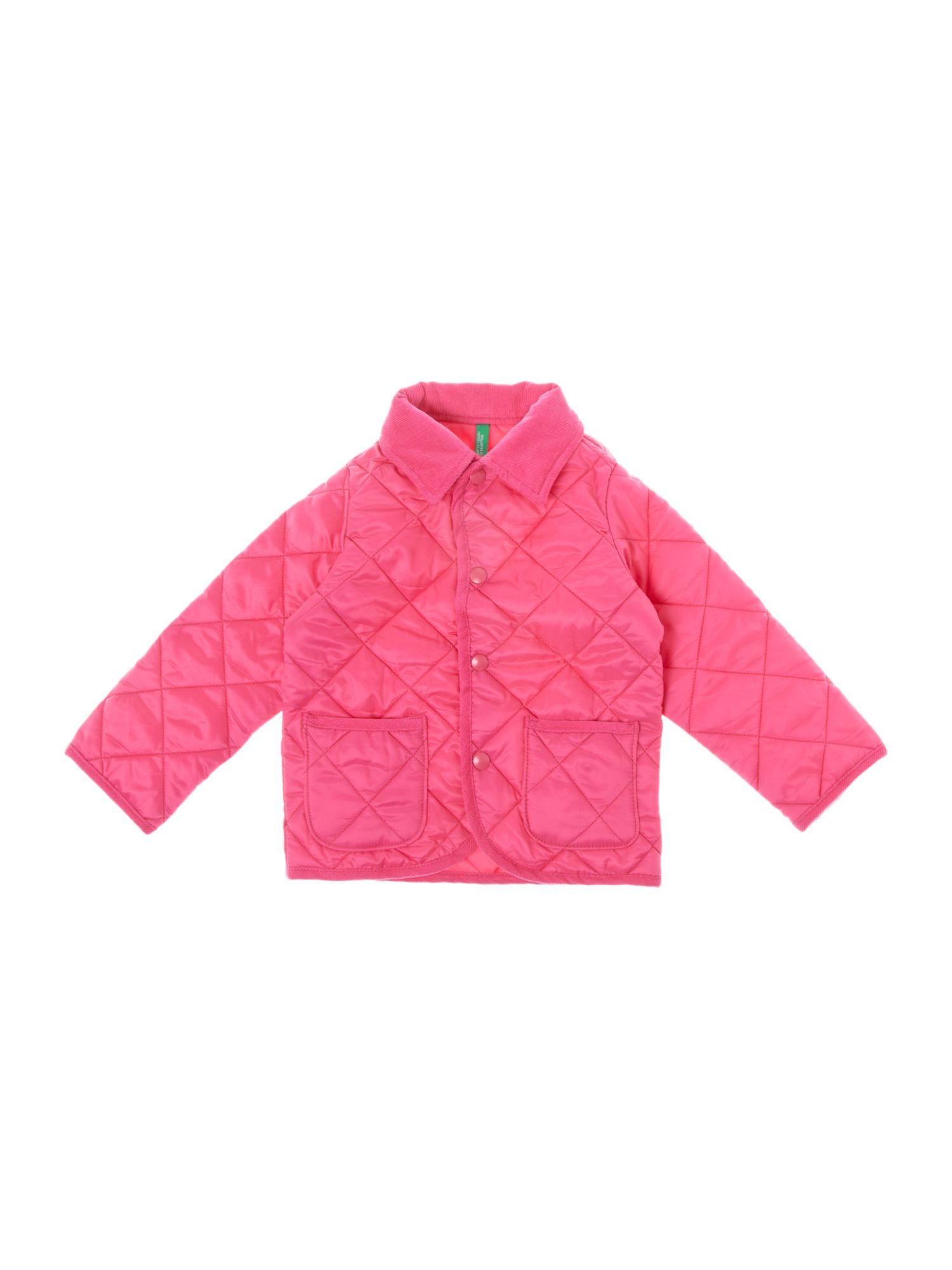 Girl`s classic quilted barn jacket