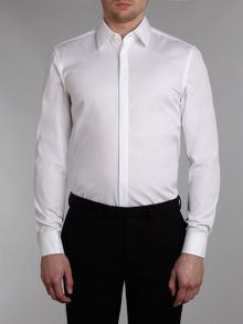 Hugo Boss Ilias double cuff slim fit shirt