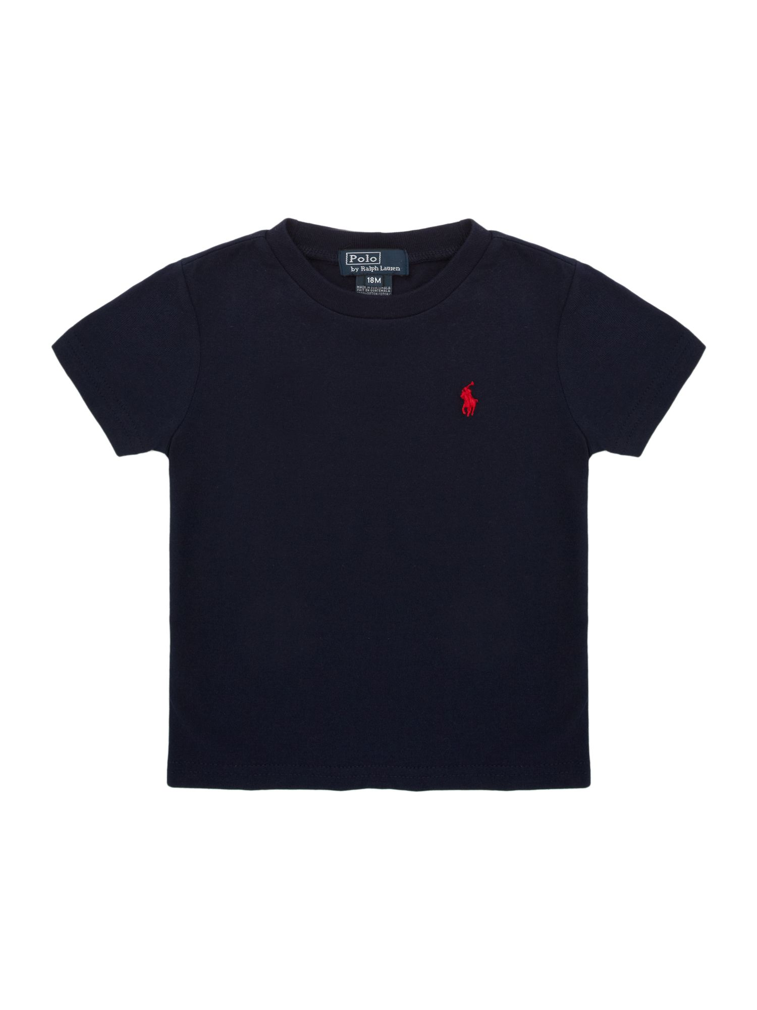 Boys crew neck logo t-shirt