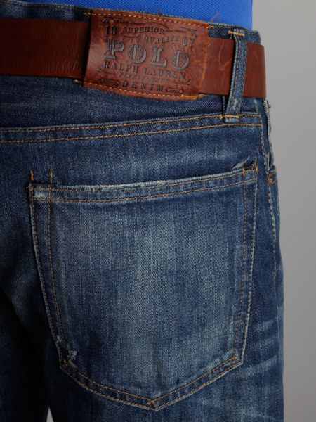 Polo Ralph Lauren Varick slim fitted jeans