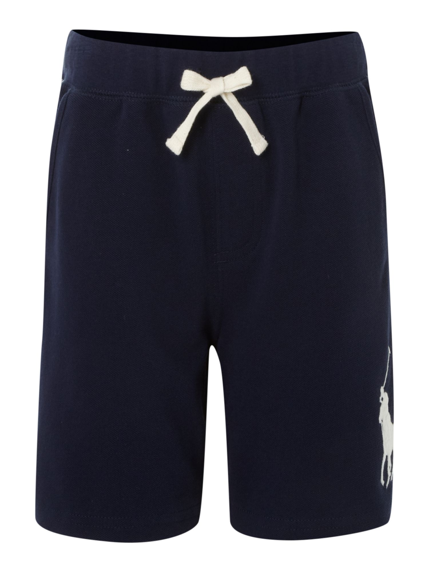 Boy`s large pony logo mesh shorts
