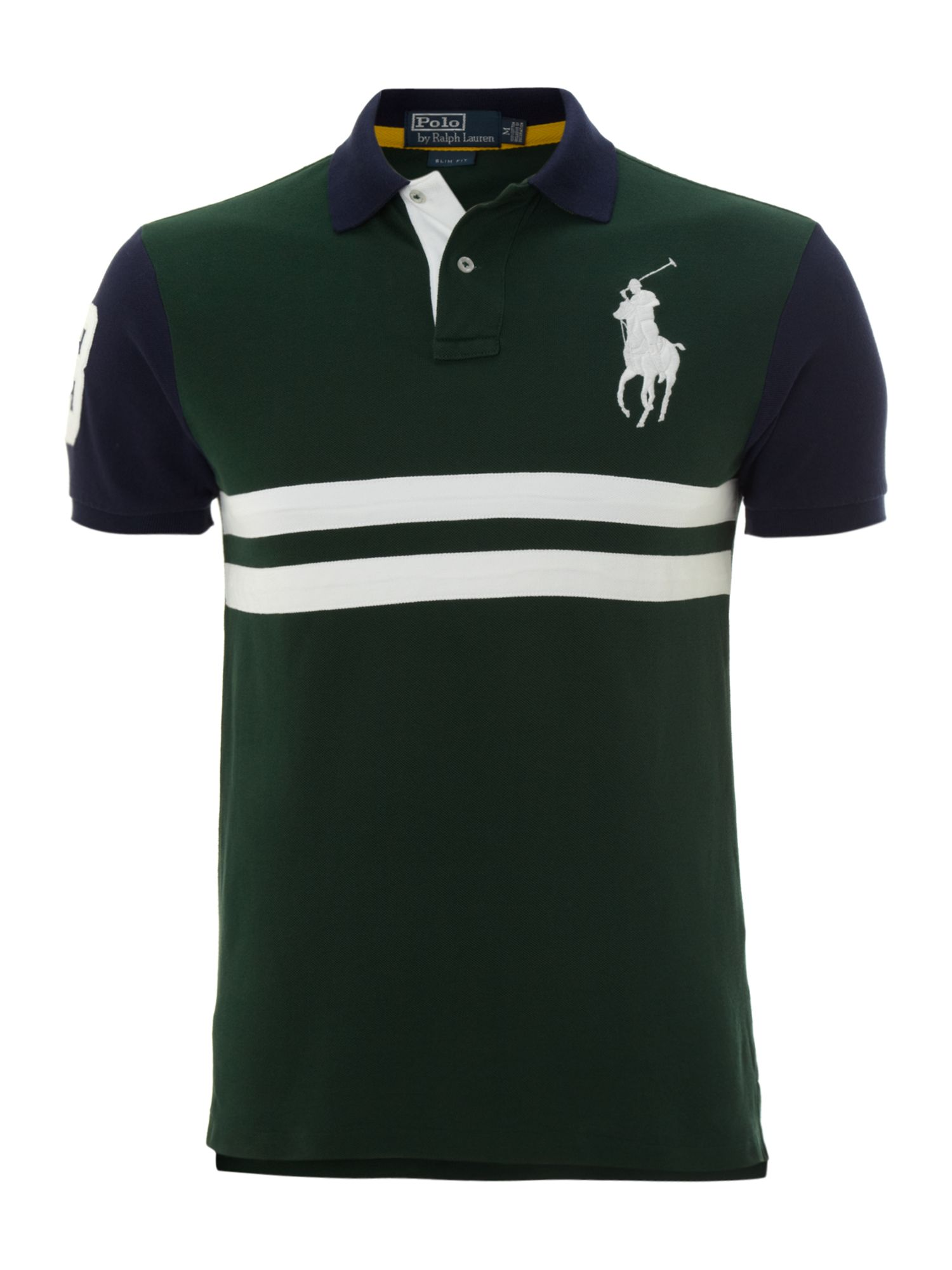 Big pony slim fitted polo shirt