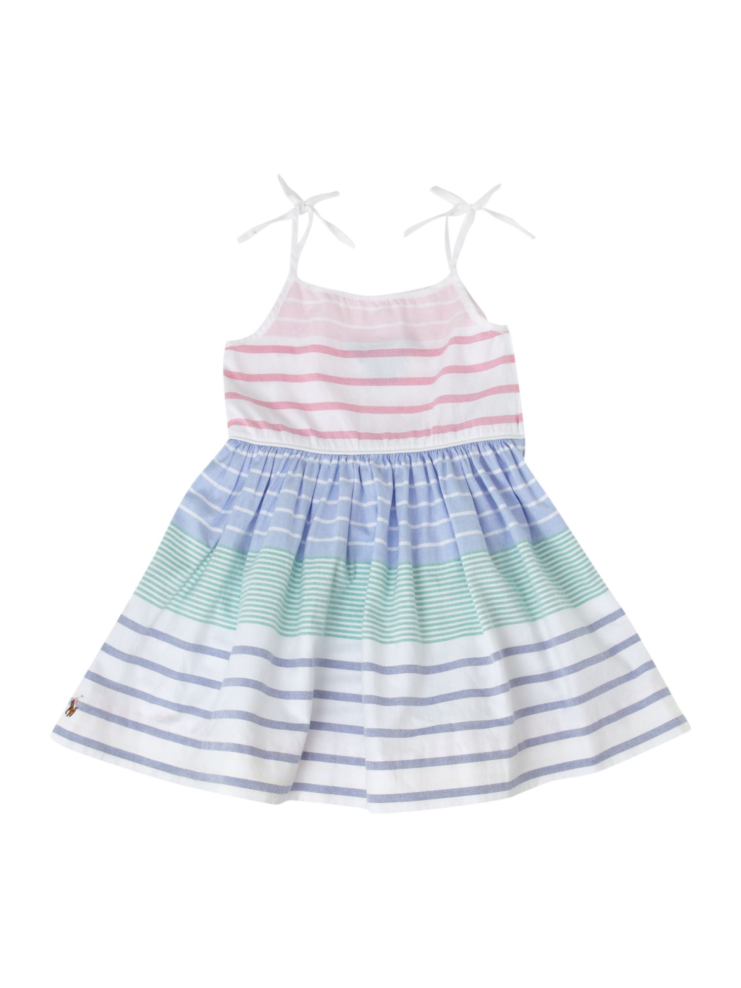 Girl`s stripe sundress