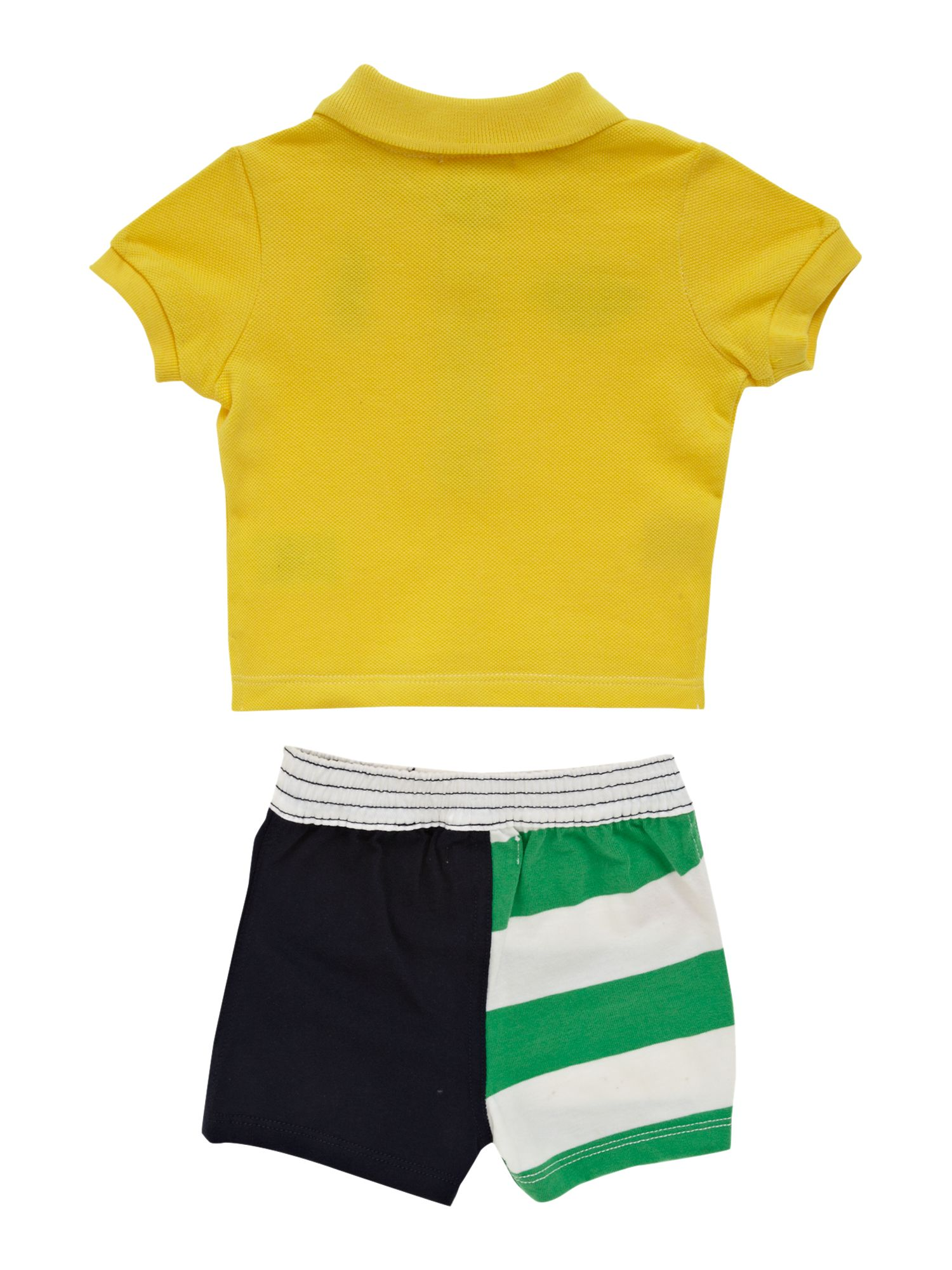 Boy`s polo shirt & shorts set