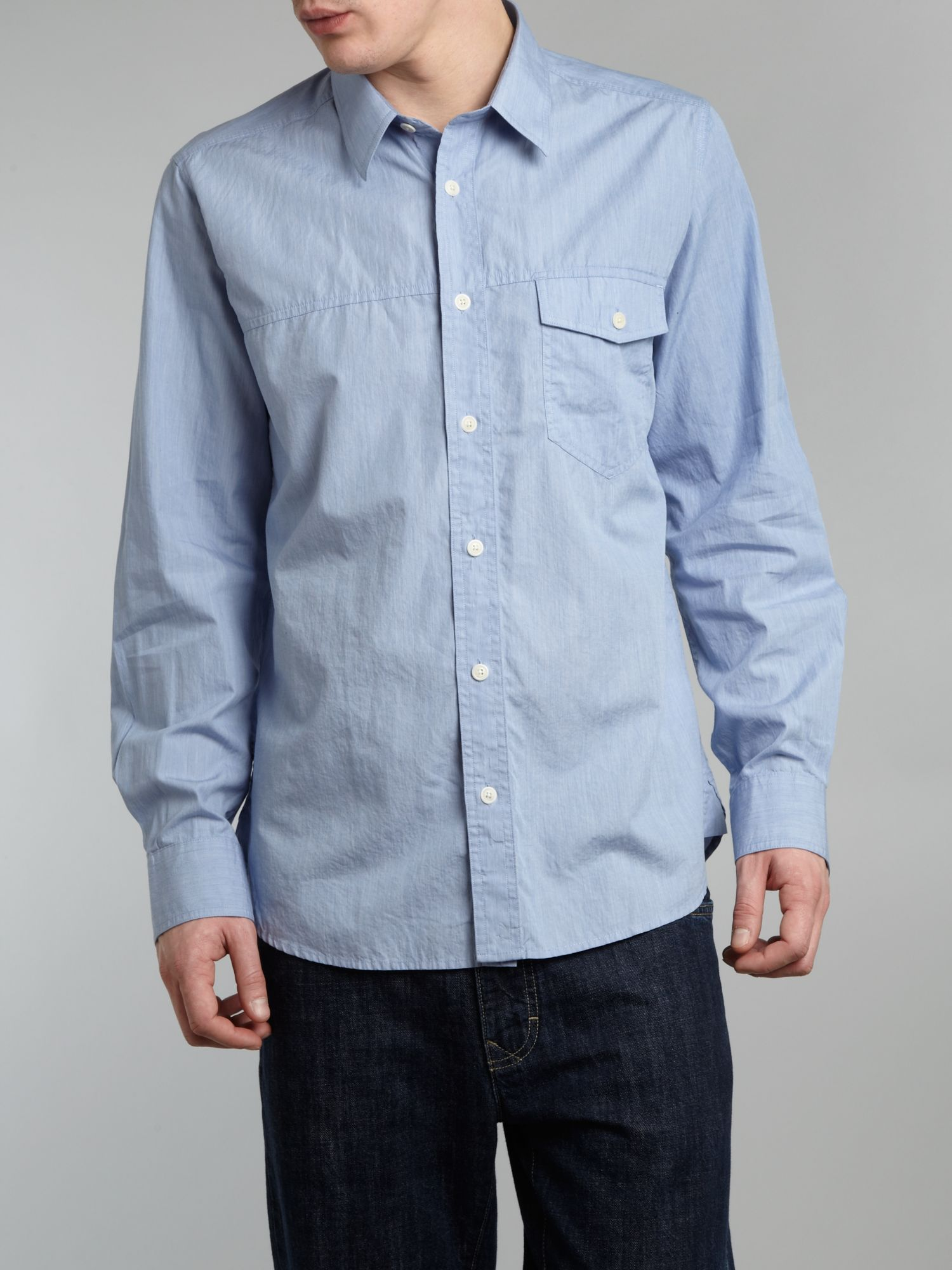 Long sleeve casey check shirt