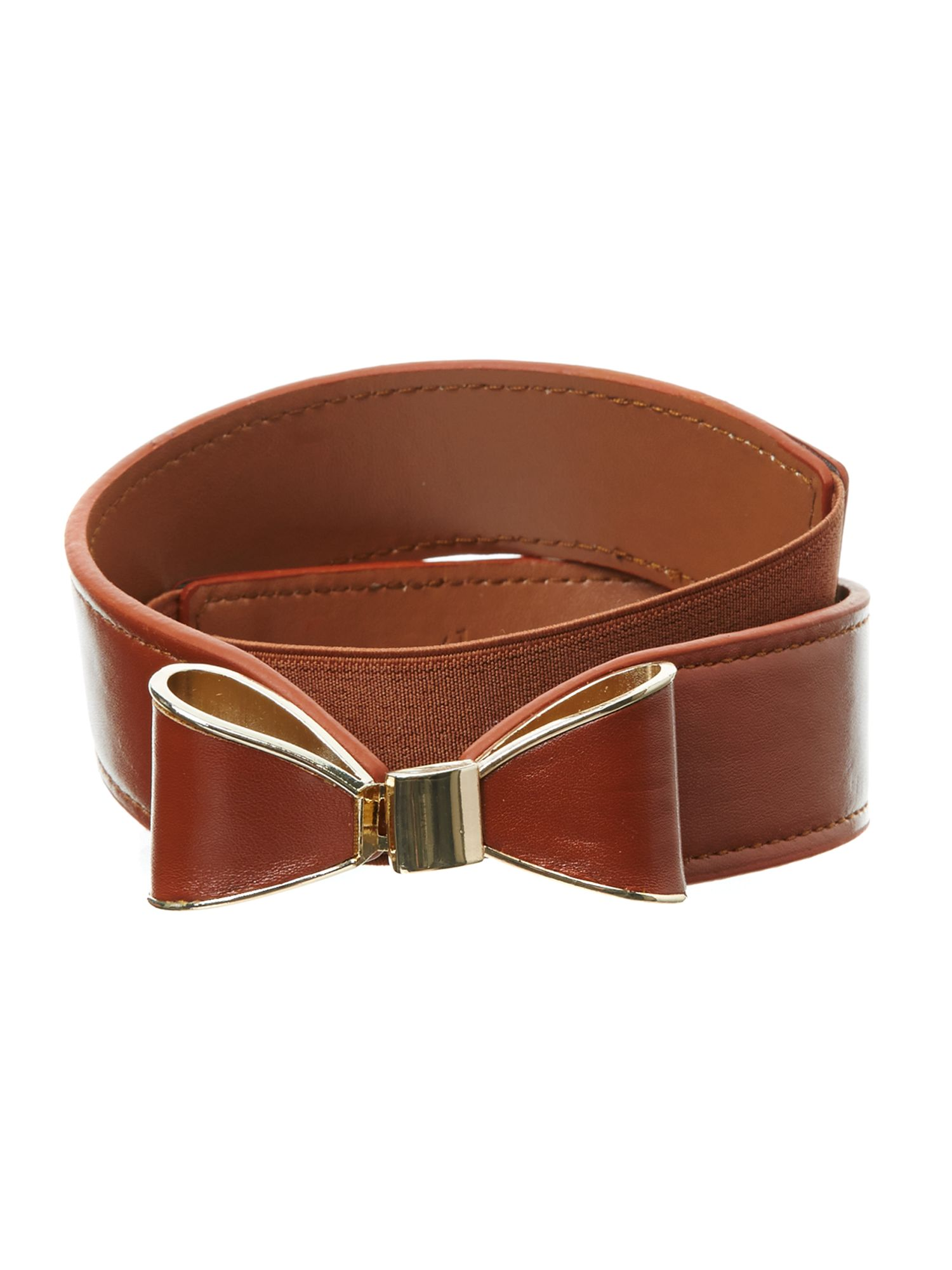 Metal bow belt