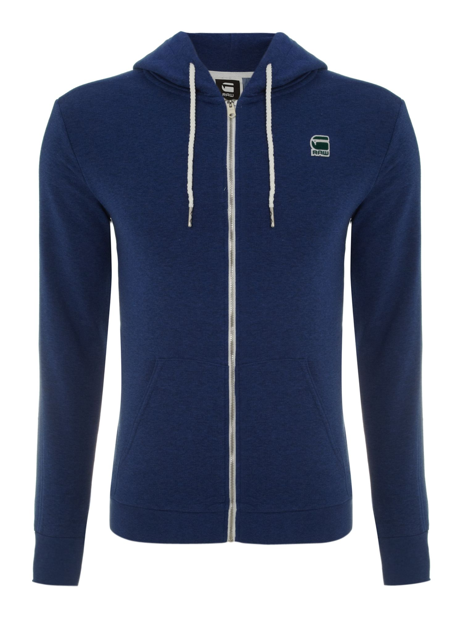 Carvell zip through hoodie