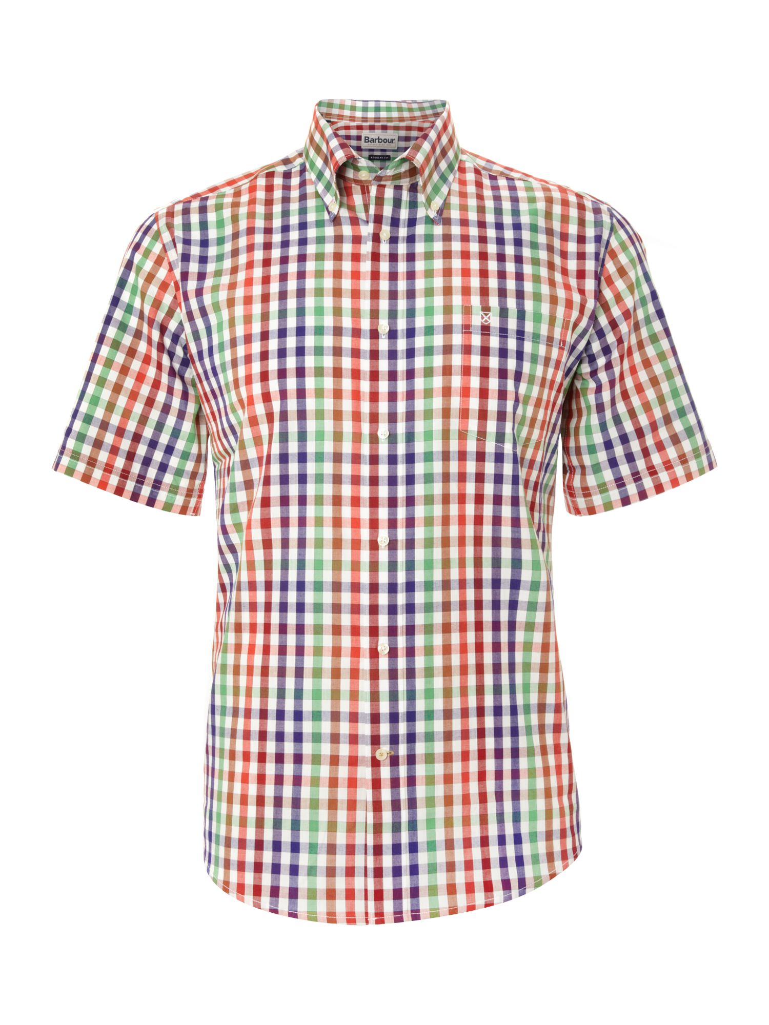 Short sleeve farndon check shirt
