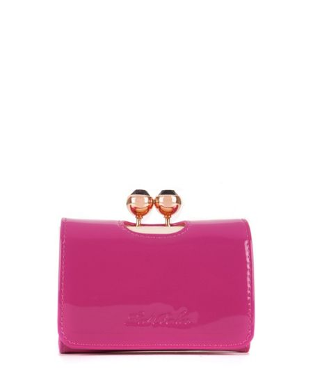 Ted Baker Shyla patent small purse