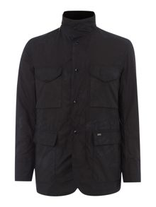Tailored sapper wax jacket