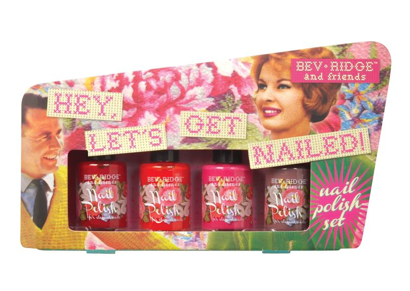 Hey, Let`s Get Nailed Nail Polish Set