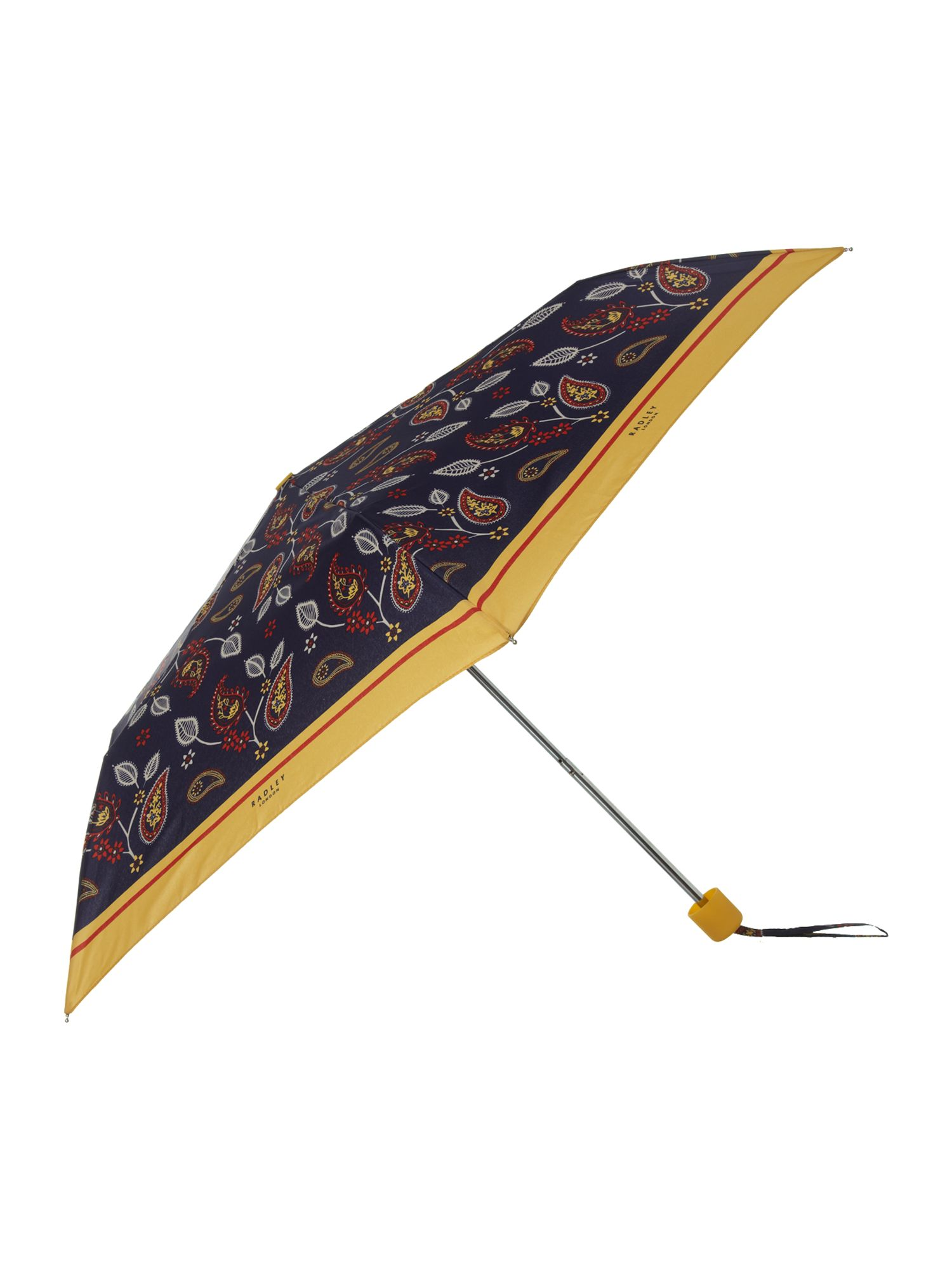 Paisley mini telescopic umbrella