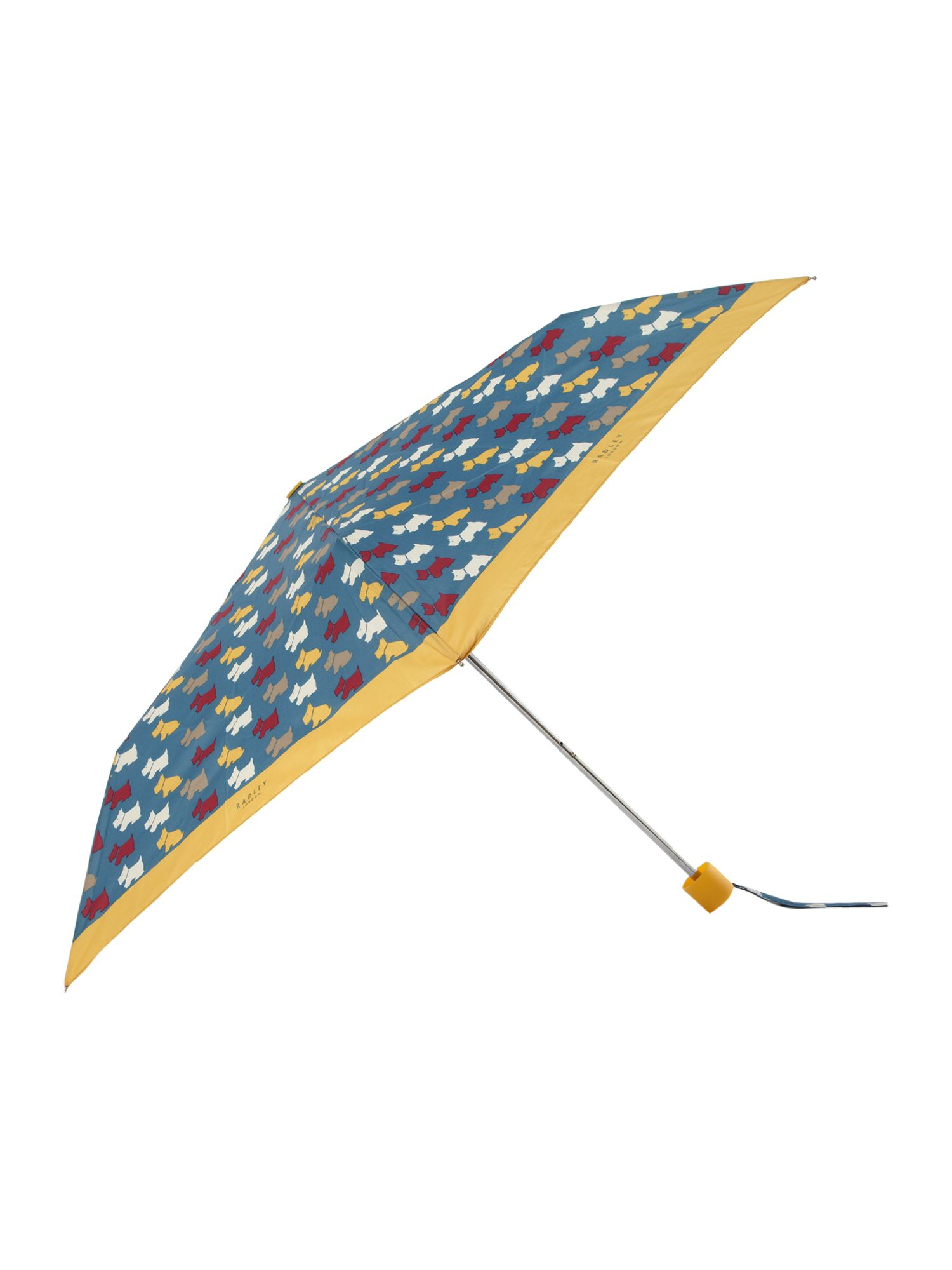 Dog print mini telescopic umbrella