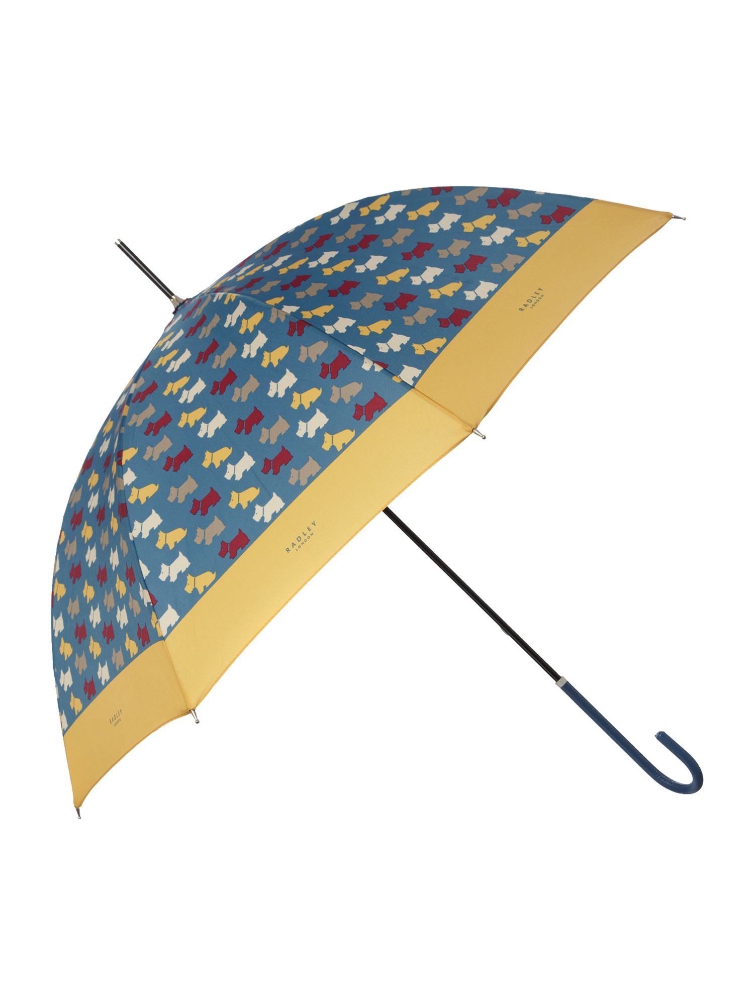 Dog print walker umbrella