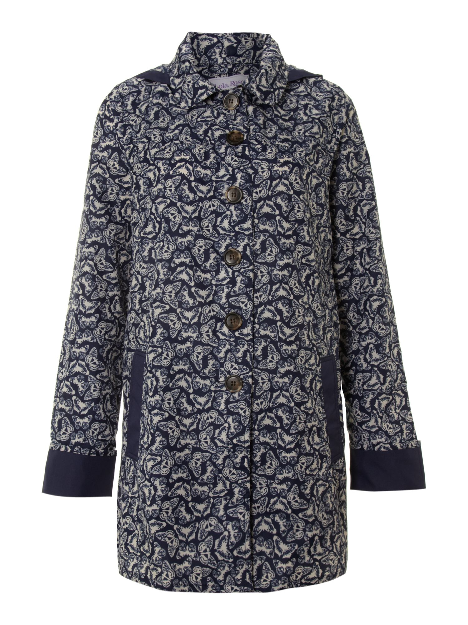 Butterfly print classic mac - medium
