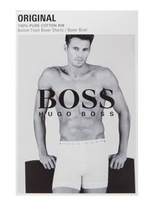 Hugo Boss Button fly underwear boxer