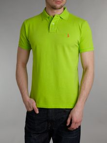 Classic custom fitted polo shirt