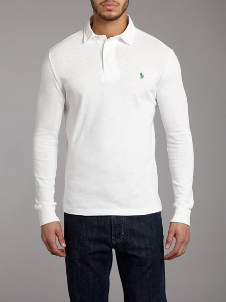 Polo Ralph Lauren Classic slim fitted rugby top