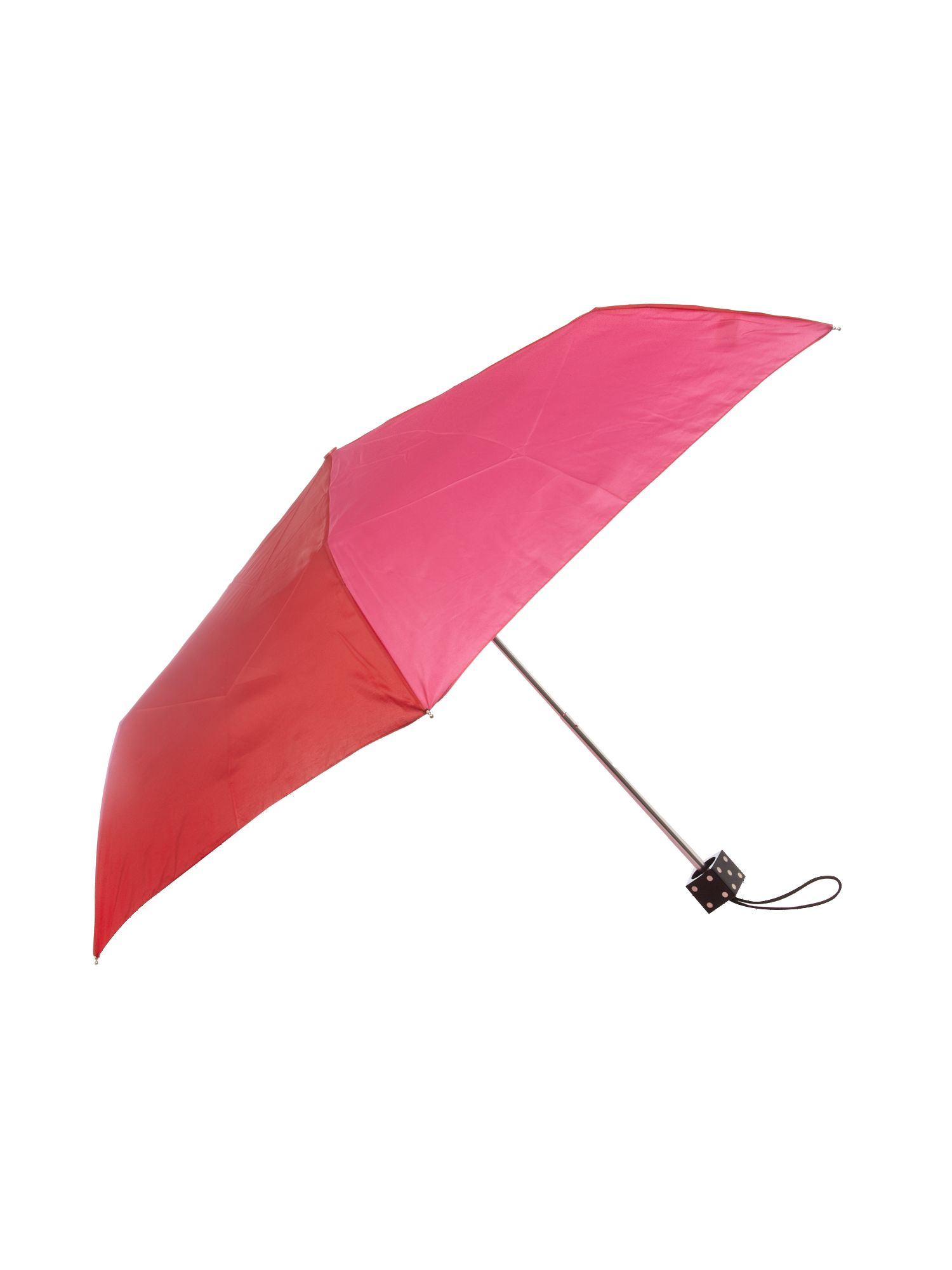 Superslim umbrella with dice handle