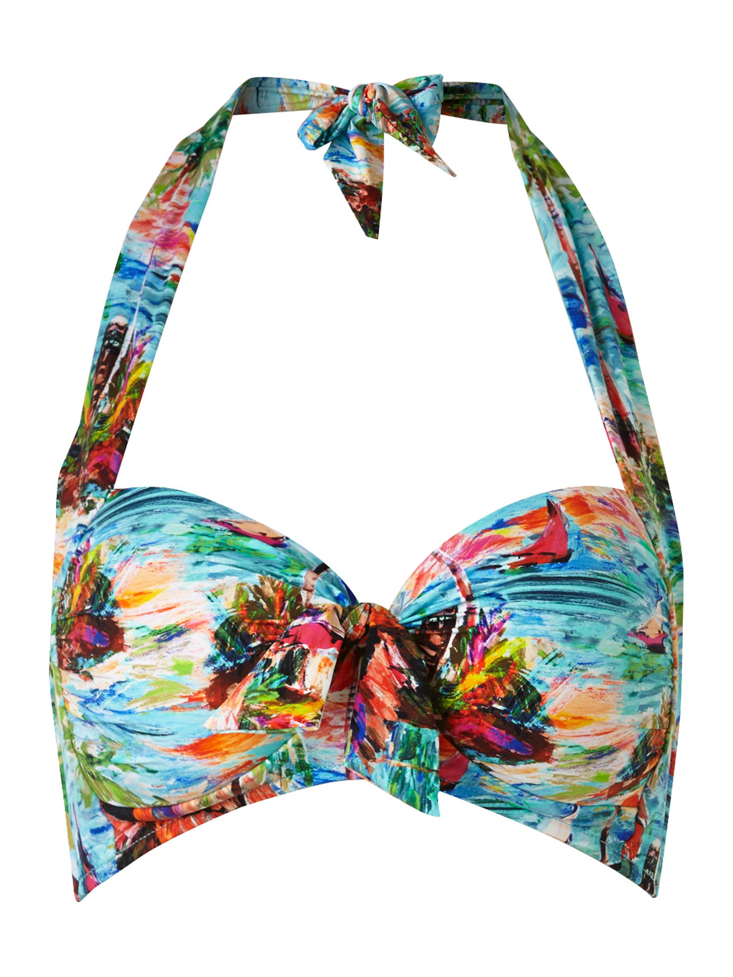 South pacific soft cup halter top