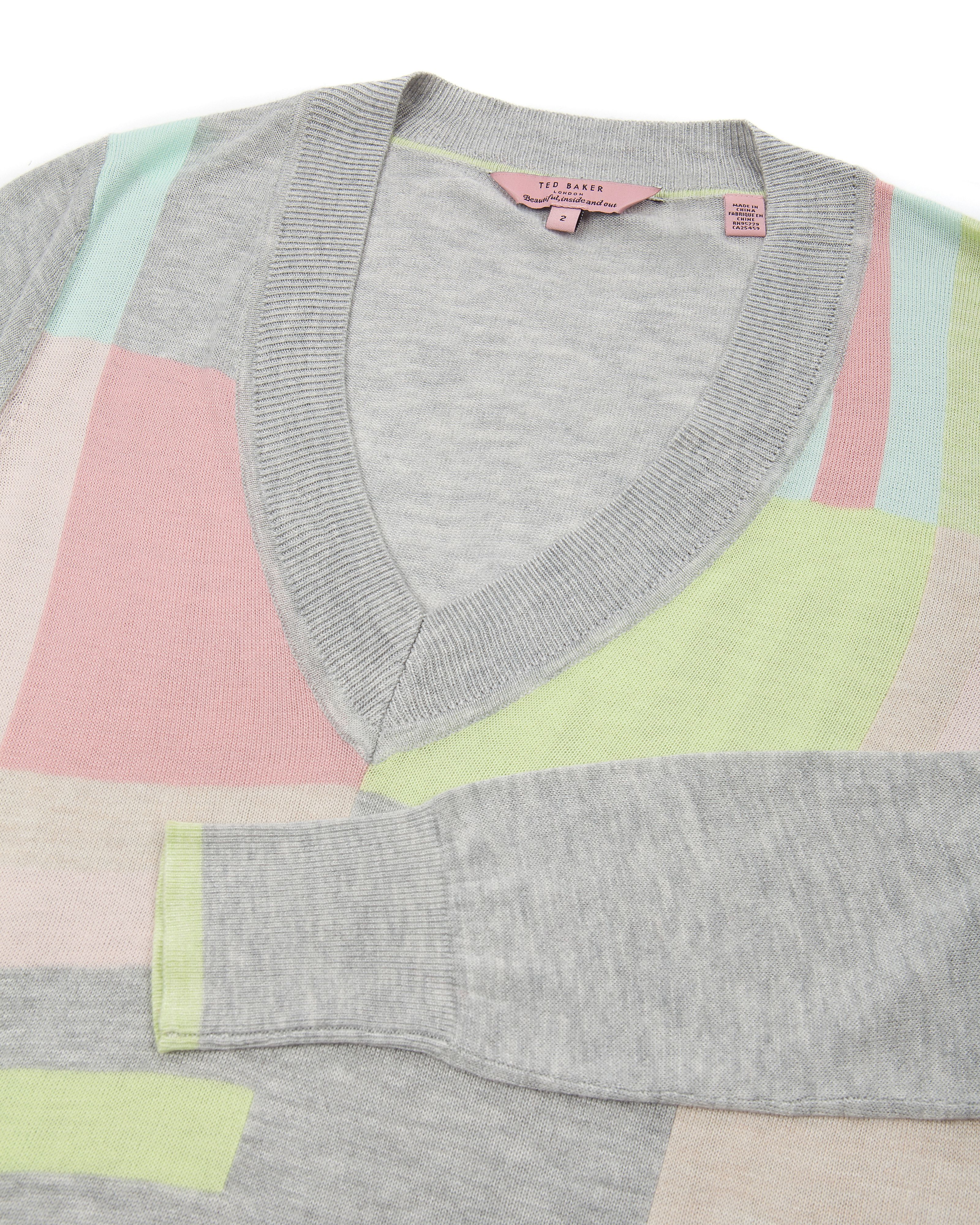 Essati colour block sweater