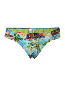 South pacific ruched side brief