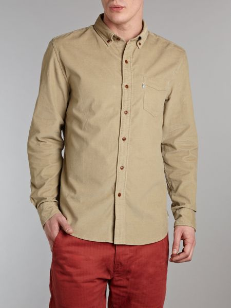 Levi's One pocket cord shirt