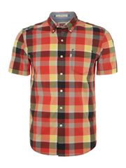 Levi's Short sleeved one pocket checked shirt