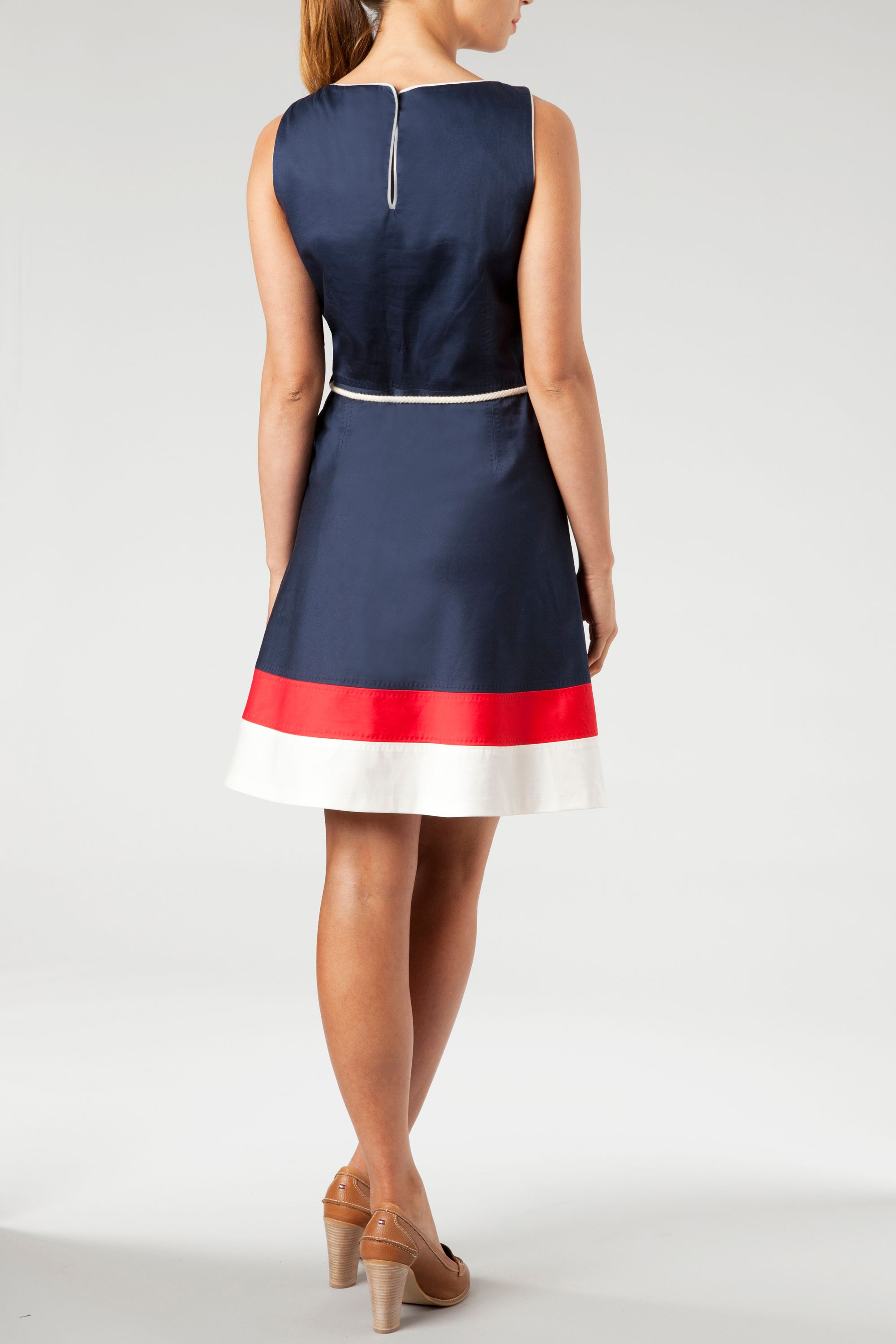 Dessie colorblock sleeveless  dress
