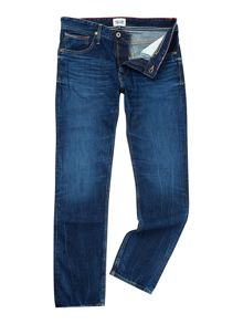 Tommy Hilfiger Ryan la mid rigid wash jean