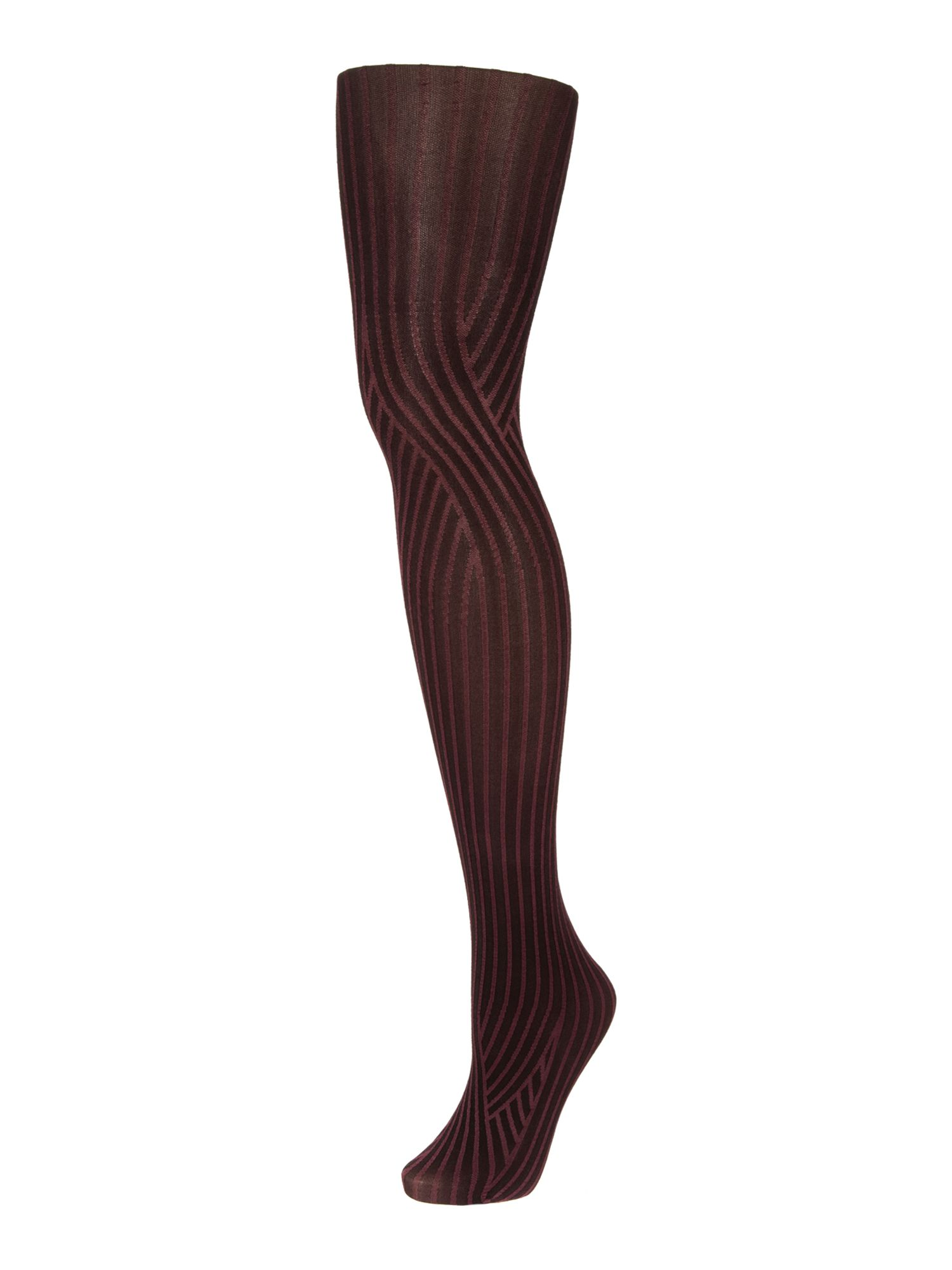 Deco curve tights